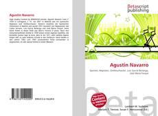 Copertina di Agustin Navarro