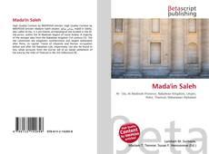 Bookcover of Mada'in Saleh