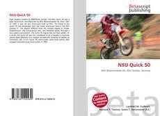 Bookcover of NSU Quick 50
