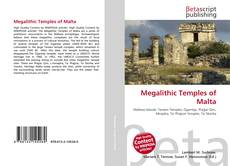 Megalithic Temples of Malta的封面