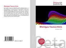 Capa do livro de Rheingau-Taunus-Kreis