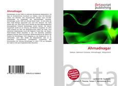 Bookcover of Ahmadnagar