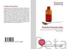 Portada del libro de Prafulla Chandra Roy