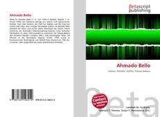 Bookcover of Ahmado Bello