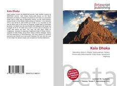 Bookcover of Kala Dhaka