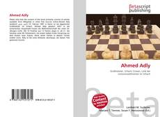 Bookcover of Ahmed Adly