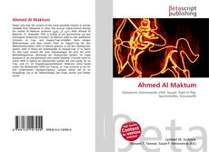 Bookcover of Ahmed Al Maktum