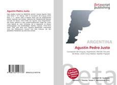 Buchcover von Agustín Pedro Justo