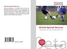 Bookcover of Ahmed Apimah Barusso