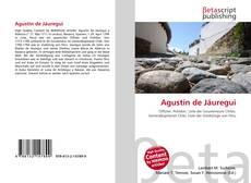 Buchcover von Agustín de Jáuregui