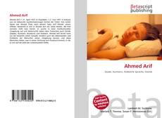 Portada del libro de Ahmed Arif
