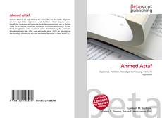Bookcover of Ahmed Attaf