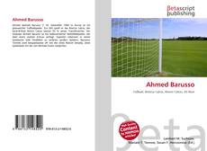 Bookcover of Ahmed Barusso