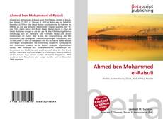 Bookcover of Ahmed ben Mohammed el-Raisuli
