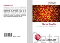Ahmed Bouchiki kitap kapağı