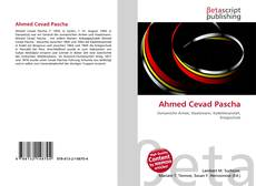 Bookcover of Ahmed Cevad Pascha