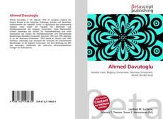 Bookcover of Ahmed Davutoglu