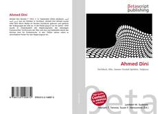Bookcover of Ahmed Dini