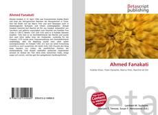 Buchcover von Ahmed Fanakati