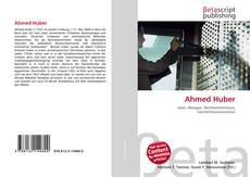 Bookcover of Ahmed Huber