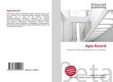 Buchcover von Agta Record