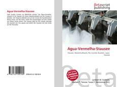 Bookcover of Agua-Vermelha-Stausee