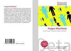 Buchcover von Prague Manifesto