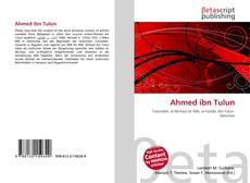 Couverture de Ahmed ibn Tulun