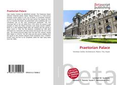 Couverture de Praetorian Palace