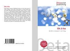 Oh Ji-ho kitap kapağı
