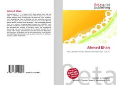 Bookcover of Ahmed Khan