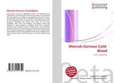 Bookcover of Rhenish-German Cold-Blood