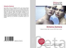 Copertina di Ximena Zamora