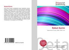 Robat Karim kitap kapağı