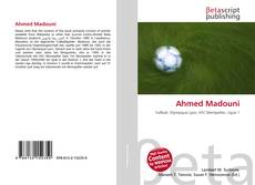 Bookcover of Ahmed Madouni