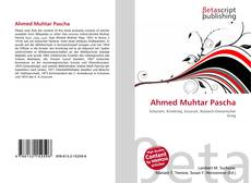 Bookcover of Ahmed Muhtar Pascha