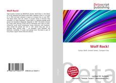 Bookcover of Wolf Rock!