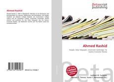 Bookcover of Ahmed Rashid