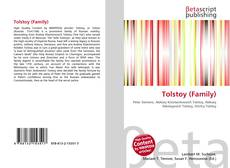 Bookcover of Tolstoy (Family)