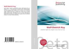 Bookcover of Wolf-Dietrich Huy