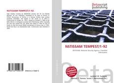 Bookcover of NSTISSAM TEMPEST/1-92