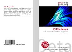Bookcover of Wolf Lepenies