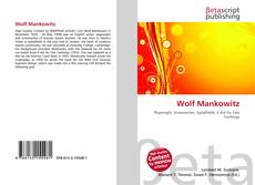 Bookcover of Wolf Mankowitz