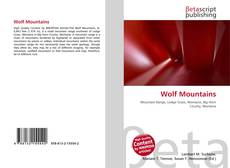Bookcover of Wolf Mountains