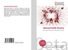Bookcover of Ahmed Vefik Pascha