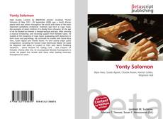 Bookcover of Yonty Solomon