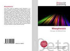 Couverture de Rheopheresis