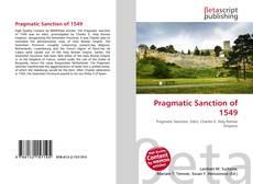 Portada del libro de Pragmatic Sanction of 1549