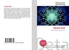Portada del libro de Ahmet Arif