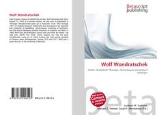 Bookcover of Wolf Wondratschek